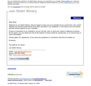 von-Stiehl-welcome-email-before