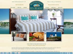 Brewster House Bed & Breakfast (Freeport, Maine Coast) Website