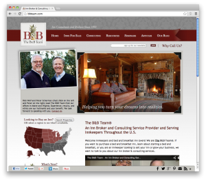 responsive website - The B&B Team