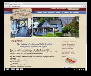 Blue Gull Inn website
