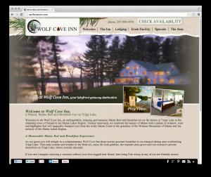 Wolf Cove Inn website