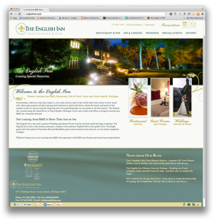 The English Inn Homepage