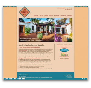 Sam Hughes Inn Responsive Design Site Launch