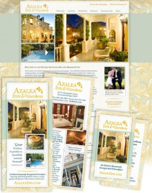 Azalea Inn Print Marketing Designs