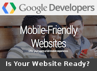 Google Mobile-Friendly Websites logo - is your website ready?