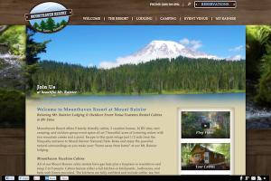 mounthaven.com - after custom responsive web design