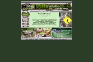 mounthaven.com - before custom responsive web design