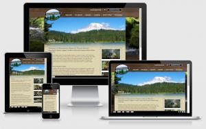 mounthaven.com custom responsive web design on desktop, laptop, tablet and mobile devices