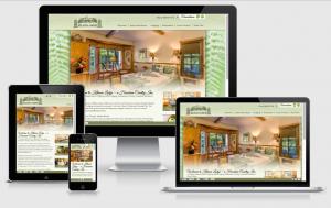 kilauealodge.com custom responsive WordPress theme views