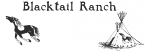 Blacktail Ranch logo before redesign