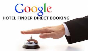 Google Hotel Finder direct booking