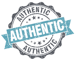 blog writing tips for authenticity logo