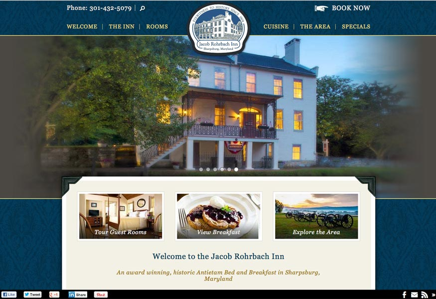 The needs of a bed and breakfast website design are different from those of  other industries. Bed and Breakfast Website Design   InsideOut Solutions