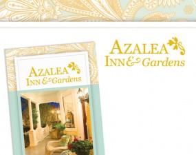 Azalea Inn & Gardens logo design