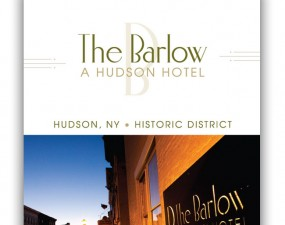 The Barlow logo design