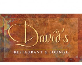 David's Restaurant & Lounge Logo design