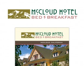 McCloud Hotel Bed & Breakfast Print Materials
