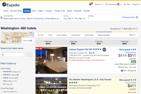 Expedia Accelerator allows hotels to bid for listing position.