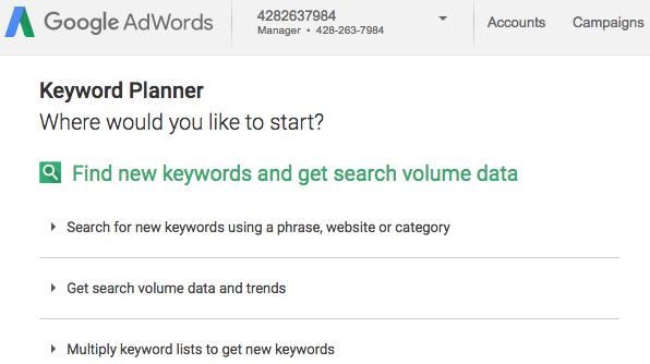 blog keyword volume tools