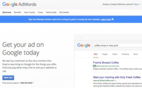 Google AdWords 1 - Overview