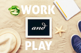 work and play - marketing vacations to work-martyrs