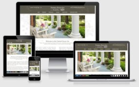Federal House Inn - responsive bed & breakfast website design