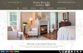 Faderal House Inn - new website