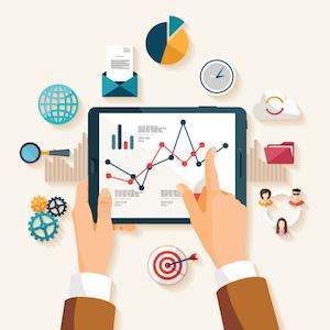 Internet Marketing Trends for 2017 Illustration