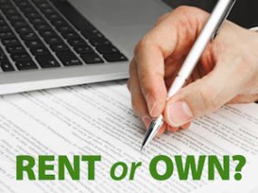 rent or own website