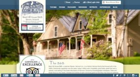 West Hill House B&B 2012 Website Design