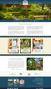 West Hill House Website Layout Proof