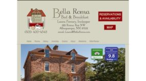 Previous Bella Roma Bed & Breakfast Website