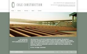 coleconstruction.com previous website