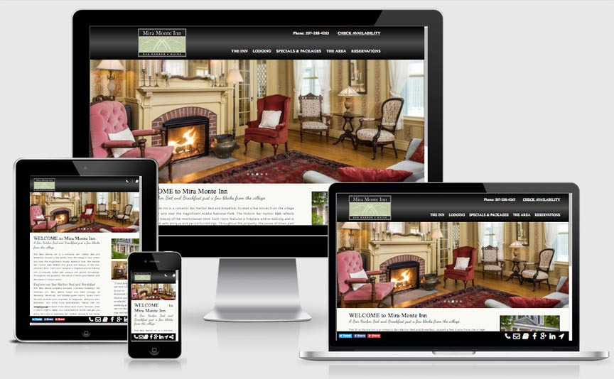 miramonte.com new responsive website