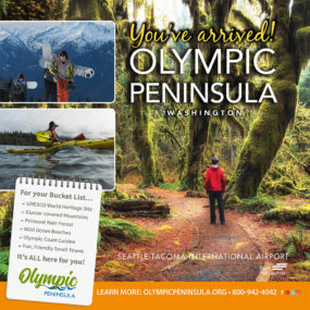 Olympic Peninsula Tourism Commission SeaTac Spotlight Ad