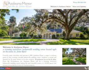 Azaleana Manor Website
