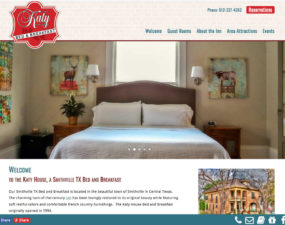 Katy House BB website