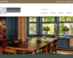 Brown Street Inn Website