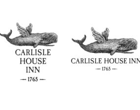 Carlisle House Inn Logo Design