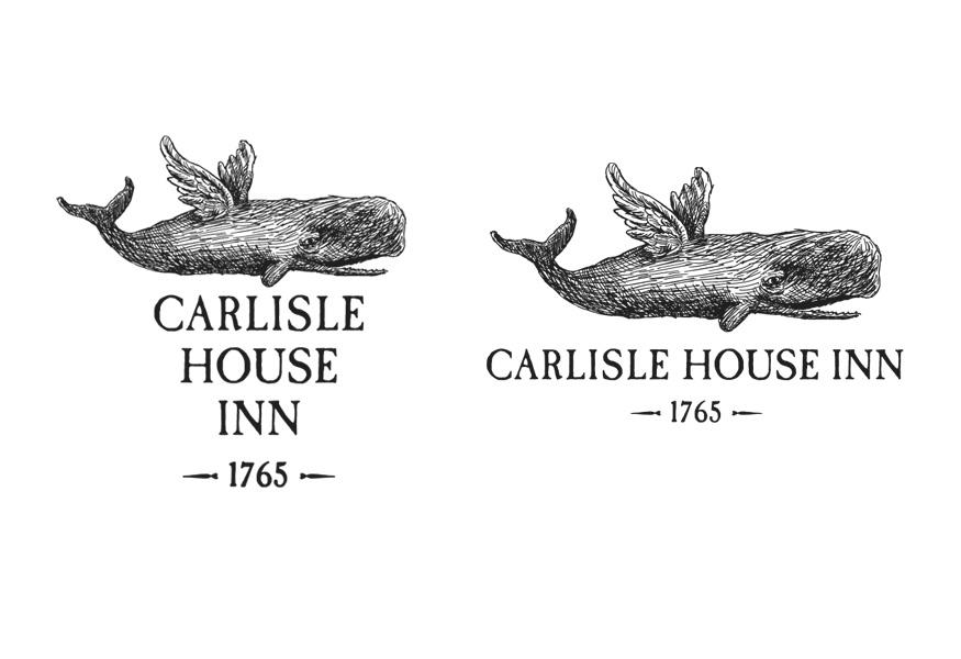 Carlisle House Inn Logo Design
