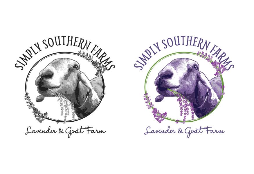 Simply Southern Farms Logo Design
