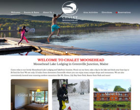 Chalet Moosehead Website