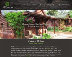 Tall Pines Inn Website