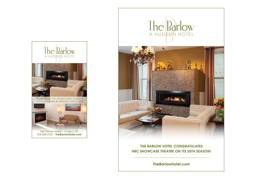 Barlow Hotel print ads