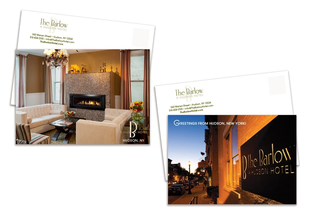 Barlow Hotel postcards