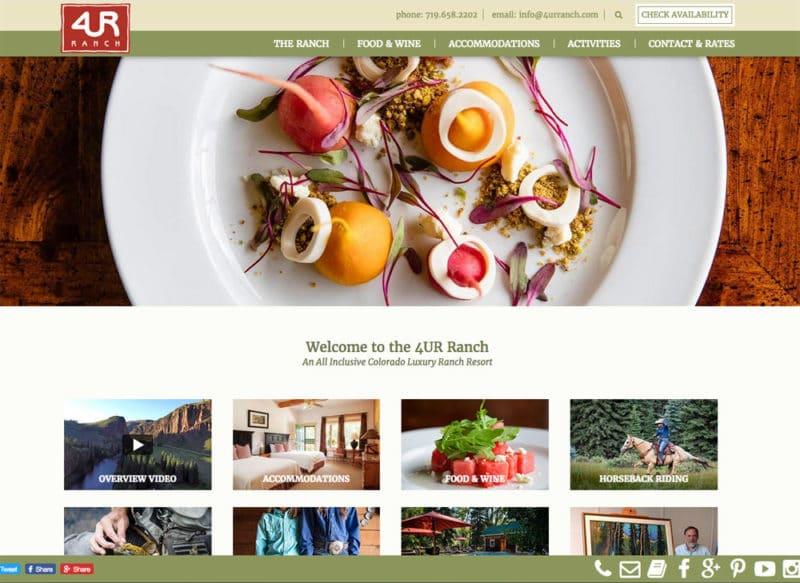4UR Ranch Website