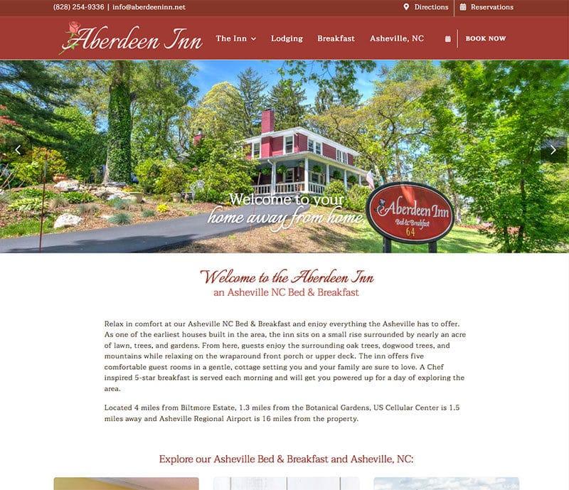Aberdeen Inn Website
