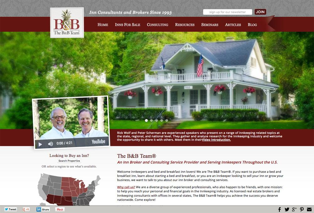 The B&B Team Website