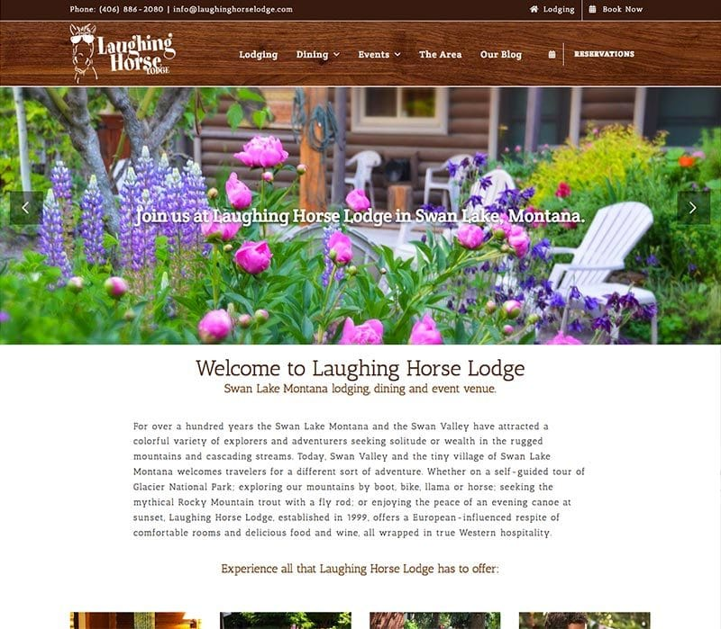 Laughing Horse Website