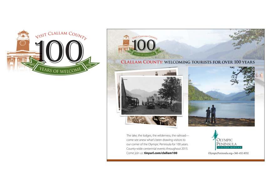 Clallam 100 Logo